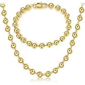0d99cab401c9 Pulsera Collar de Oro para Hombre o Mujer de la Joyería Accesorios y  Infinito Pulseras Pulsera Hombre de Cadena de Cadena Cubana de Acero  Inoxidable ...