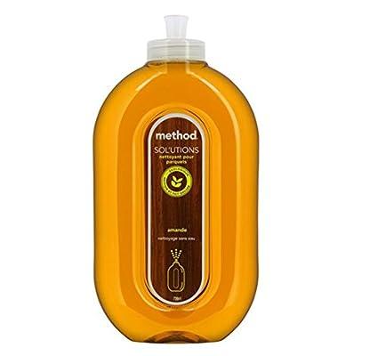 bdca659319e3 method - Nettoyant Parquets sans Eau - Parfum Amande - 739 ml - Lot de 2