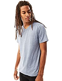 Young Men's Short Sleeve Tri-Blend V-Neck T-Shirt