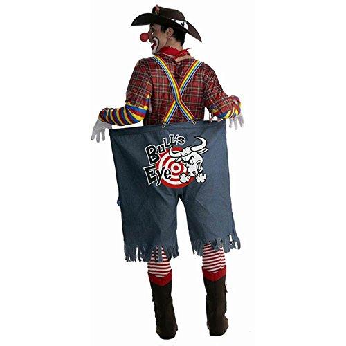 Rodeo Clown Adult Costume - (Rodeo Clown Makeup)