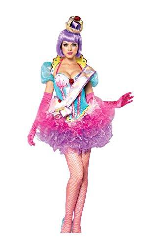 Cupcake Queen Costumes (Cupcake Queen Adult Costume deluxe - Medium)