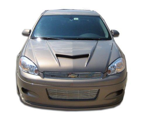 Duraflex Replacement for 2006-2013 Chevrolet Impala Racer Front Lip Under Spoiler Air Dam - 1 Piece