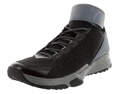 Nike Jordan Men's Jordan Dominate Pro 2 Cool Grey/Gym Red/Black Training Shoe 8.5 Men US 644825-060