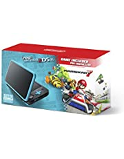$199 » New Nintendo 2DS XL - Black + Turquoise With Mario Kart 7 Pre-installed - Nintendo 2DS