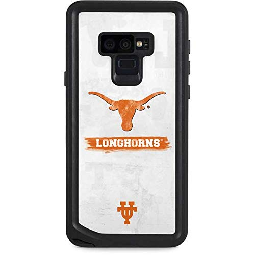 Skinit University of Texas at Austin Galaxy Note 9 Waterproof Case - Texas Longhorns Distressed Design - Sweat-Proof, Snow-Proof, Dirt-Proof, Dust-Proof Phone Cover ()