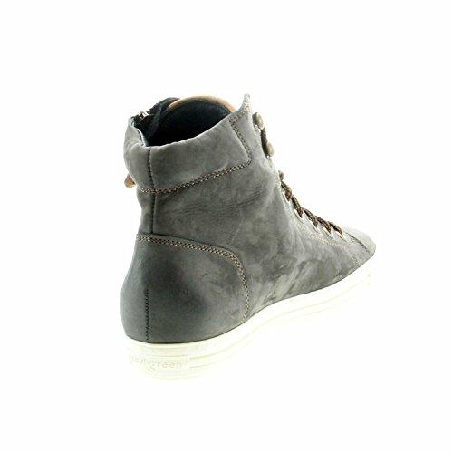 Iron 013 Lederinnenausstattung Cuoio Damen Paul Green 4675 Sneaker Nubukleder Gummisohle q8YSwCE