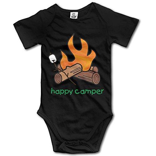 Arromper Happy Camper Boy's & Girl's Short Sleeve Jumpsuit Outfits Black 24 - Stove Cabelas