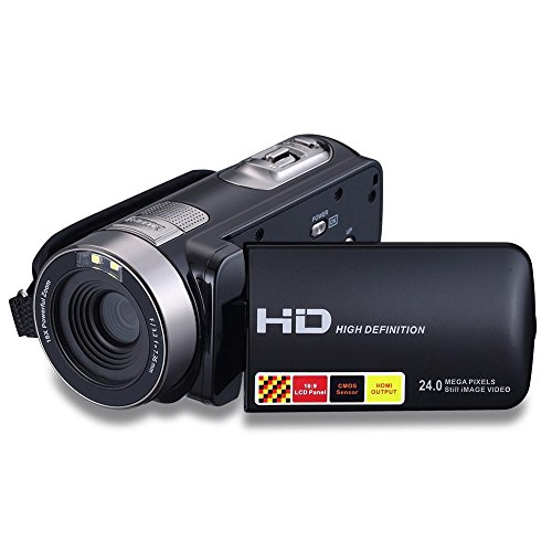 kingear-301p-24mp-1080p-27-lcd-digital-video-camera-with-16x-digital-zoom-270rotation