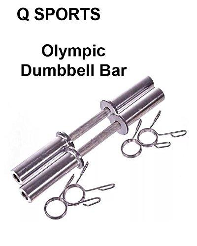 Q Sports - Juego de 2 pesas olímpicas para pesas de 5 cm de largo ...