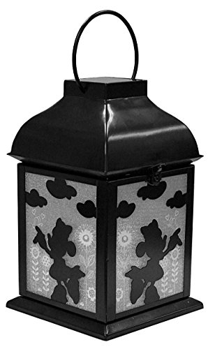 Design International Group Disney Minnie Solar, Metal Garden Lantern (LDG87926) -