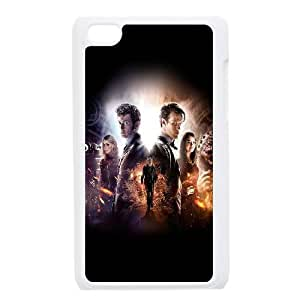 iPod Touch 4 Case White Doctor Who 50Th Poster Film Face SLI_541088