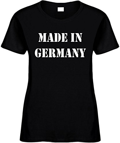 Women's Size 2X Funny T-Shirt (MADE IN GERMANY) Ladies - Germany Ship To Usps