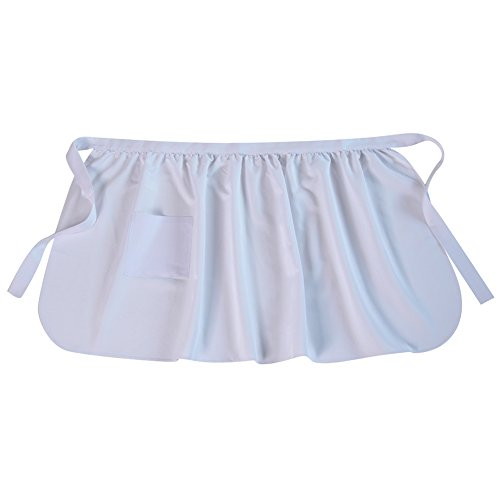 Basic Pioneer Peasant Costume Apron (Choose Color and Size) (Womens, -