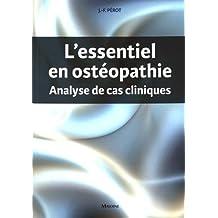 L'essentiel En Ostéopathie: Analyse de Cas Cliniques