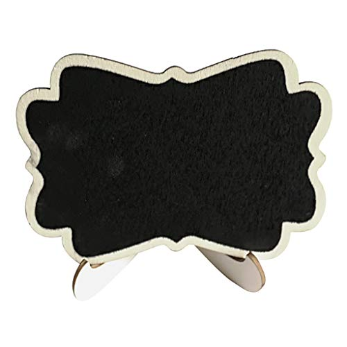 Tommer Chalkboard Sign 15 PCS Mini Small Slate Chalkboards with Easel Stand Use for Place Cards Table Number Message Board Food Signs Great for Weddings Parties Special Event Decoration - Quest Mini Slate