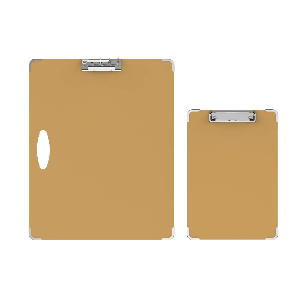 Isketch Two Pieces Drawing Wooden Boards,Anti-Collision Artist Sketch Tote Board - Indoor and Outdoor (18''x14.5'',13''x9'')