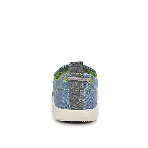 Yuanli Heren Toevallige Slip Loafers Bootschoenen Blauw