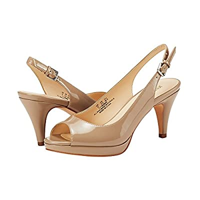 JENN ARDOR Women's Slingback Pumps Stiletto High Heels Ladies Peep Toe Sandals Dress Party Platform Shoes | Heeled Sandals