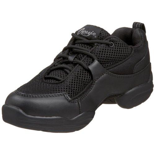 Capezio Fierce DS11C Dance Sneaker ,Black,12 M US Little Kid