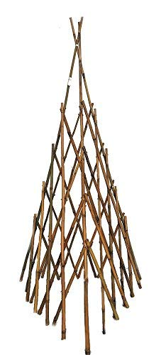 (Natural Bamboo Poles Teepee, 60