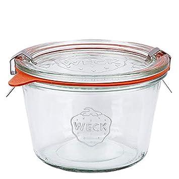 12 Weck Gläser 370ml 1//4L Sturzgläser Einmachglas Einweckgläser Marmeladenglas