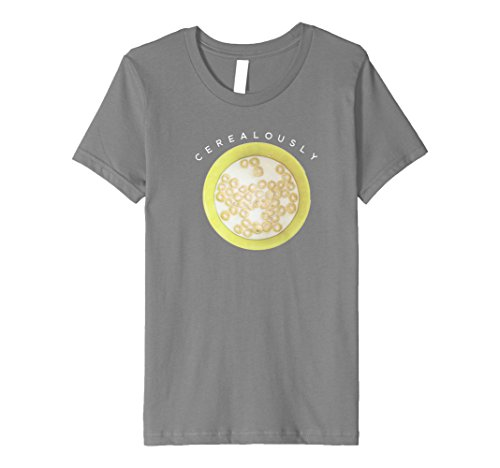 sly Funny Cereal Unique Gift T-Shirt 6 Slate ()