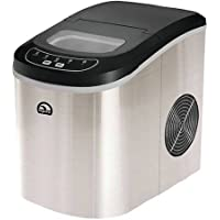 Igloo Portable Countertop Ice Maker, Stainless Steel