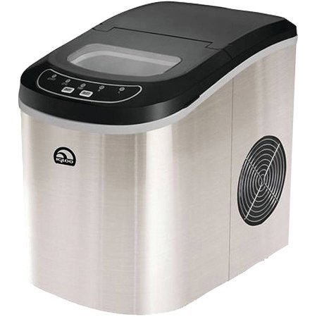Igloo Portable Countertop Ice Maker, Stainless Steel - Retro Sonic Compressor