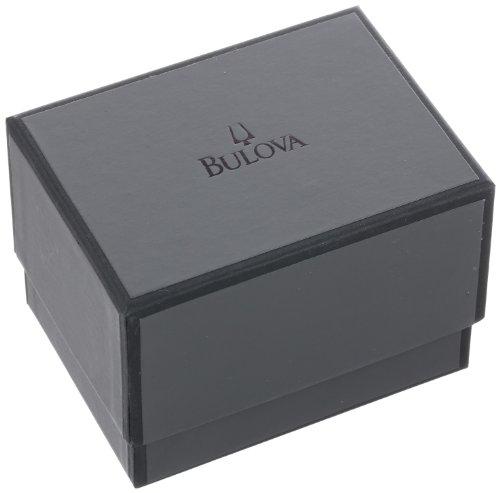 Bulova 98B203 Men's Analog Watch Silver