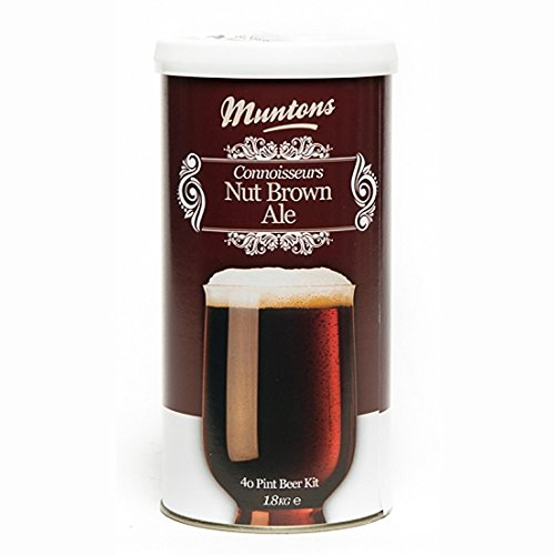 Muntons Connoisseurs Range Nut Brown Ale Beer Making Kit, 63.49 Ounce Can
