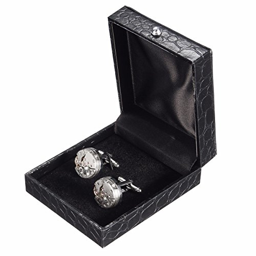 Cufflinks baban deluxe steampunk mens cufflinks vintage for Men s jewelry box for watches and cufflinks