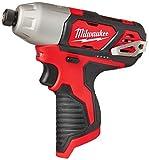 Milwaukee 2462-20 M12 1/4 Inch Hex Shank 12 Volt