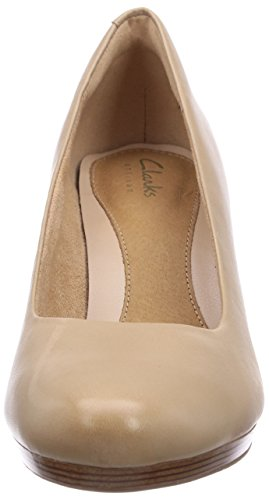 nude Femme Escarpins Beige Clarks Appeal Leather Tempt qPa1O1