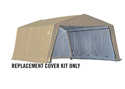 Shelterlogic Replacement Cover Kit 12x20x8 Peak Gray