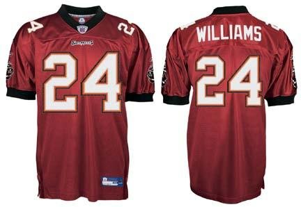 the latest bc87a bcb8f Amazon.com: Cadillac Williams Tampa Bay Buccaneers #24 ...