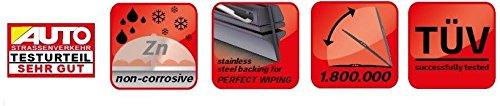 Picanto 2017-onwards Heyner Germany Spoiler Windscreen Wiper Blades Front Set 2414 HS2414H