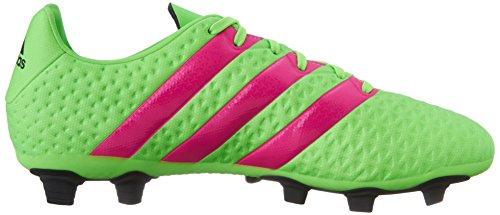 Adidas Performance Ace 16,4 Fg / ag Fu�ballschuh, schwarz / Schock Rosa / Schock Grün, 6,5 M Us Shock Green/Shock Pink/Black