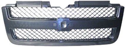 OE Replacement Chevrolet Trailblazer Driver Side Grille Assembly (Partslink Number GM1200549) ()