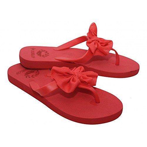 Schuhe rot mit schleife