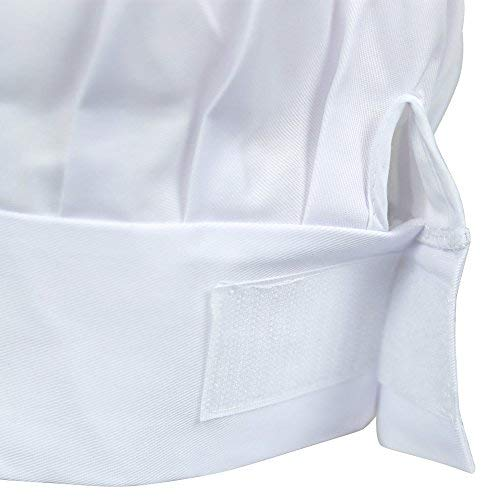 Odelia ObviousChef Kids - Child's Chef Hat Apron Set, Kid's Size, Children's Kitchen Cooking and Baking Wear Kit for Those Chefs in Training, Size (M 6-12 Year, White) by Odelia (Image #4)