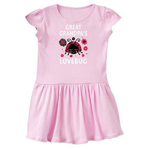 inktastic Valentine's Day Great Grandpa's Toddler Dress 5/6 Ballerina Pink 394f6