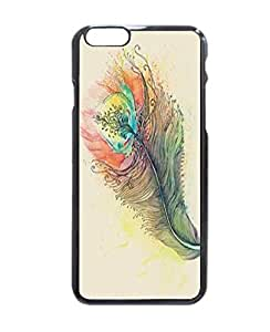 """Nice Custom Fashion Artistic Peacock Feather Print Vintage Picture Printed Hard Customized Case Cover , iPhone 6 (4.7"""") Case Cover, Protection Quique Cover, Perfect fit, Show your own personalized phone Case for iPhone 6 - 4.7 inches"""