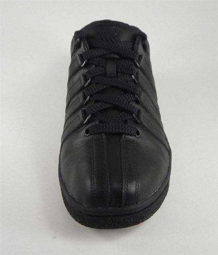 K-Swiss Men's Classic LX Lace-Up Sneaker,Black,9 M US