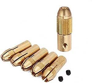 CHUNSHENN Drill Accessories 0.5-3mm Small Electric Drill Bit Collet Micro Twist Drill Chuck Set Cutting Tools