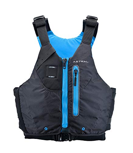 Astral Norge Life Jacket PFD for Whitewater, Touring Kayaking and Canoeing, Black, Medium/Large
