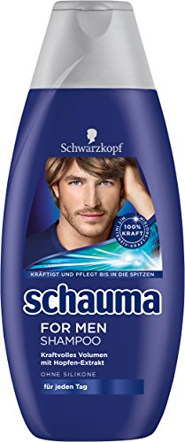 Schauma For Men Shampoo, 4er Pack (4 x 400 ml)
