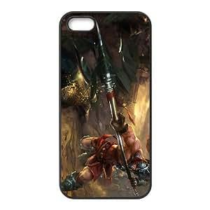iphone5 5s Black phone case XinZhao league of legends LOL5723217