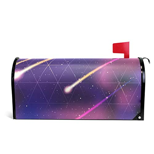 Meteor Shower Magnetic Mailbox Cover Standard Size-18