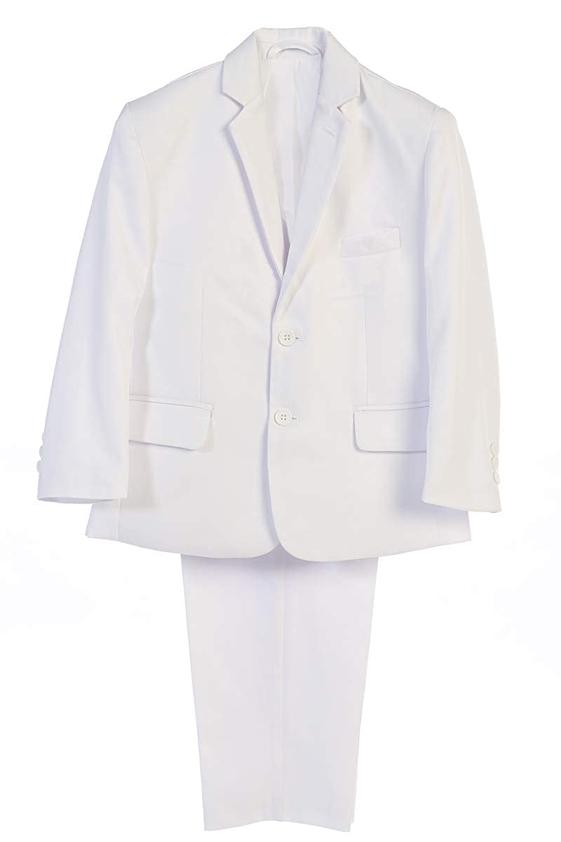with Garment Bag Lito 3580 Boys First Communion//Wedding//Graduation//Special Occasion Two Piece Suit
