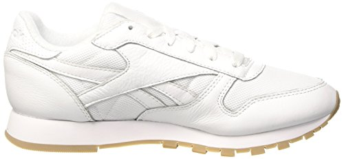 Reebok Classic Leather Estl, Scarpe da Running Unisex – Adulto Bianco (White)